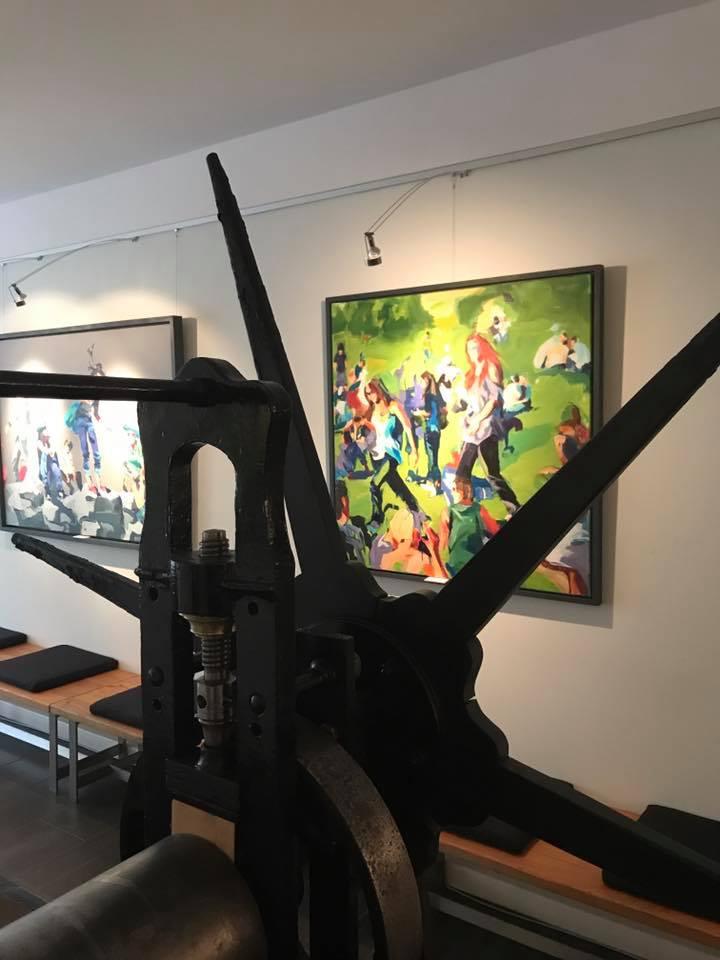 Ausstellung Birgit Schweiger Atelier Galerie K2 Sierning